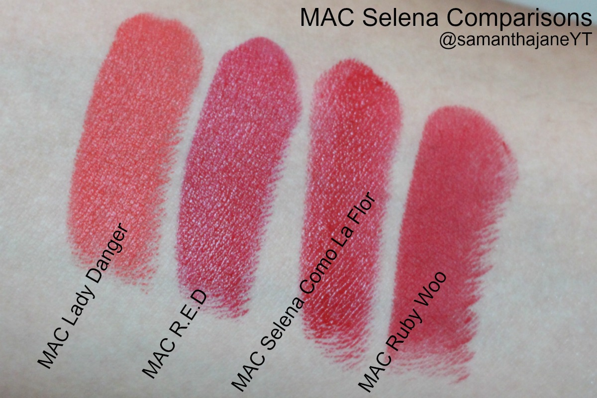MAC Selena dupe