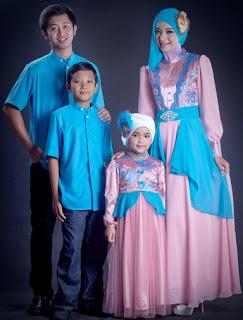 Model Baju Muslim Pesta Keluarga Modern Terbaru