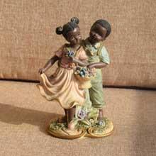 African Dancers Figurine