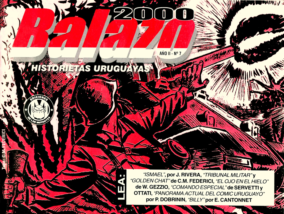 Balazo No.7 Vol.II art by CM Federici