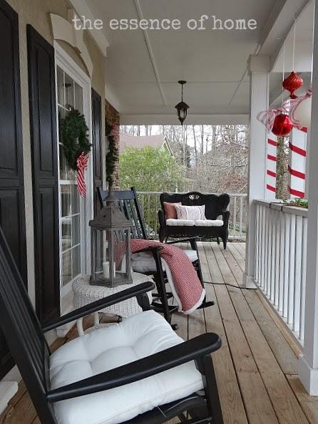The Essence Of Home Christmas Outside