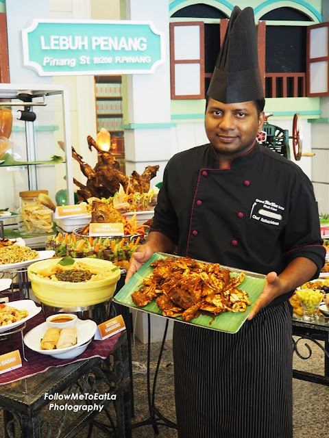 Indian Chef Rathakrishnan Of Grand BlueWave Hotel Shah Alam