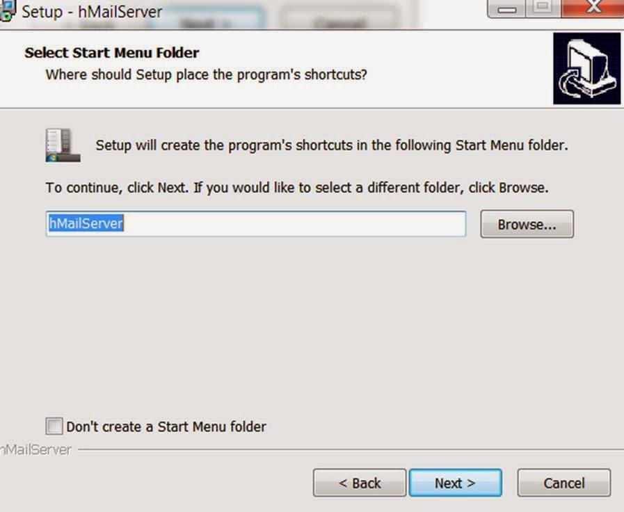 Siva R Vaka: SMTP Server Configuration on Windows ( hmail