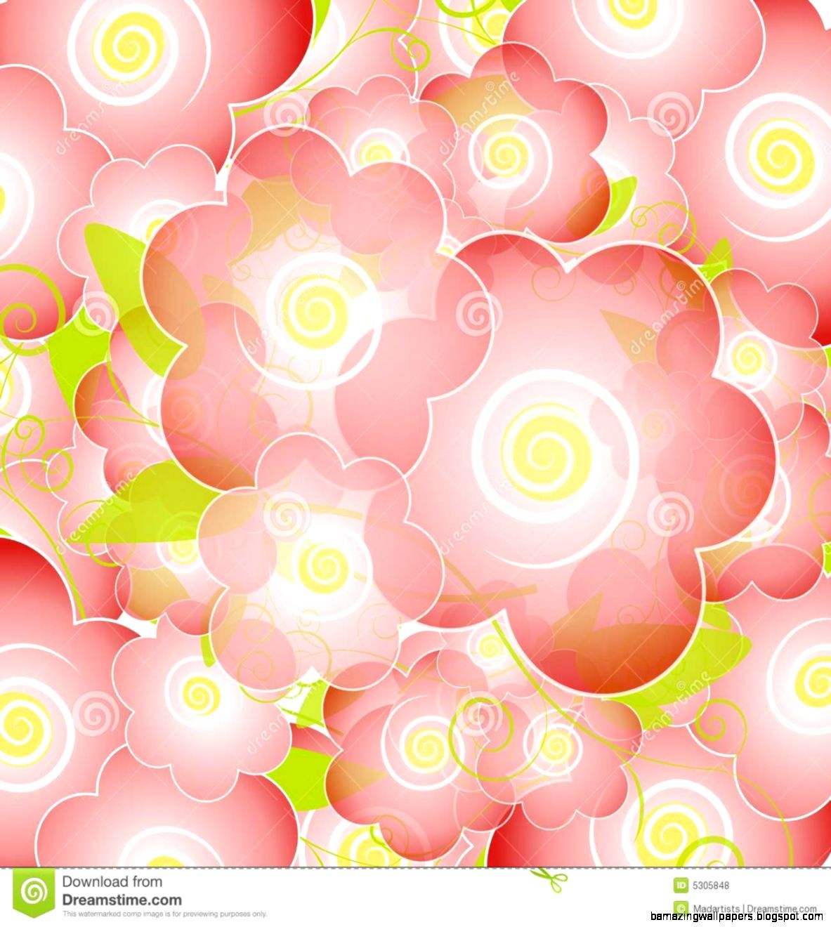 Light Pink Flowers Background Amazing Wallpapers