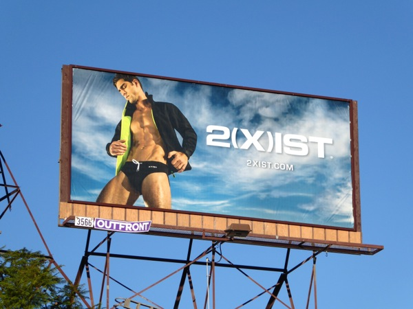 2Xist swimwear billboard Dec15