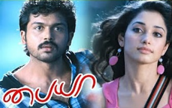 Karthi helps Tamanna hide | Paiya Tamil Movie Scenes | Tamannah