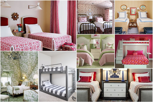 20 Wonderful Shared Girls Bedrooms Design Ideas