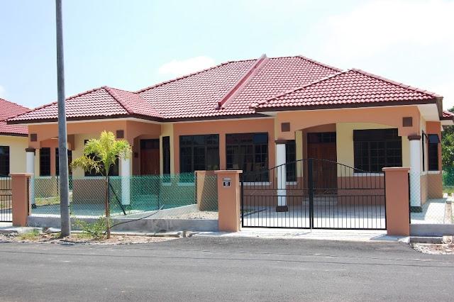 contoh rumah sederhana kampung