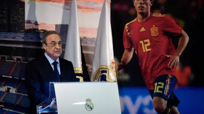 "Florentino Perez : ""La plantilla va a ser reforzada ..."""