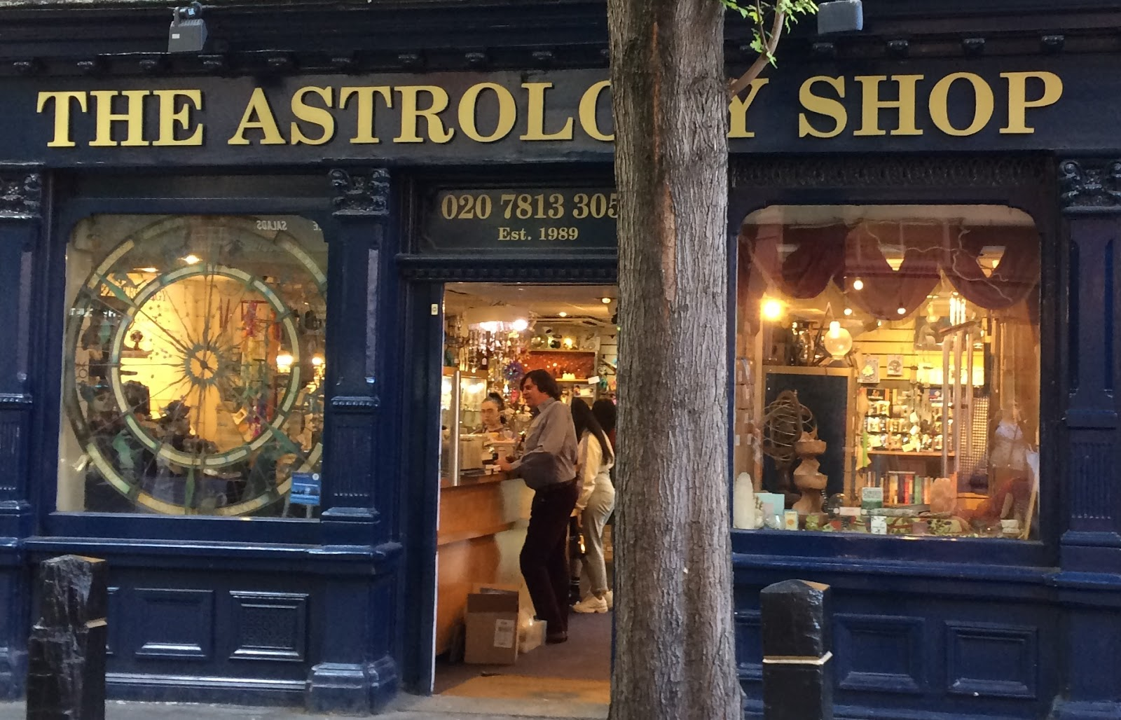 The Astrology Shop Store Front