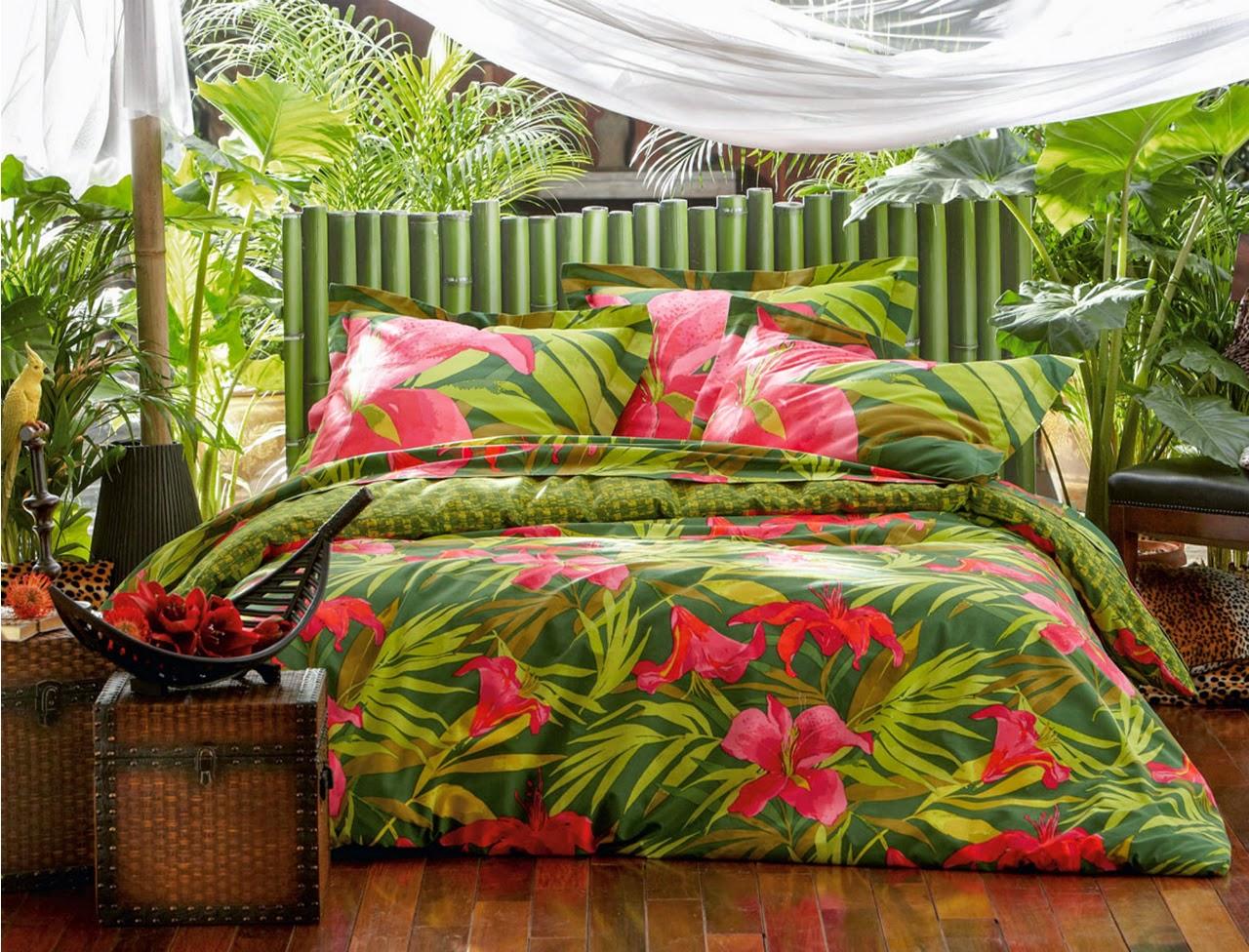 La tendance tropicale donner à votre intérieur une ambiance particulière