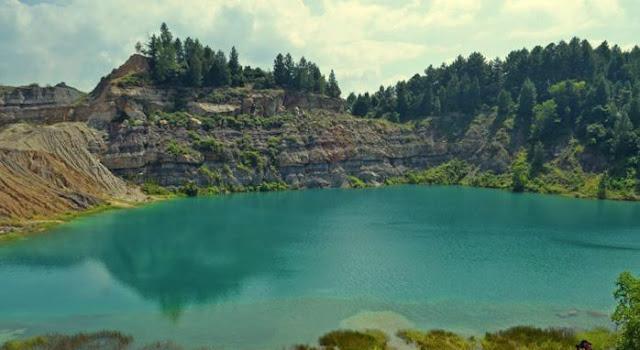 Danau Biru Sawah Lunto Populer Karena Medsos