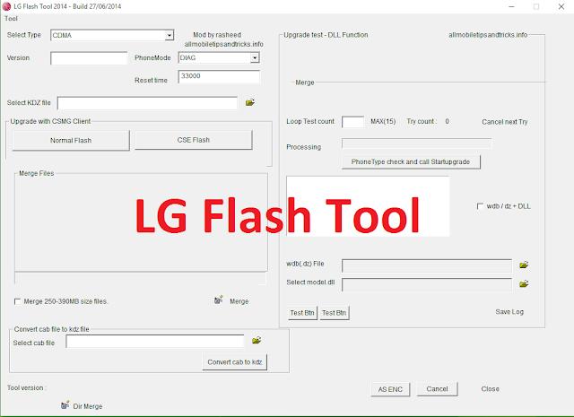 Lg flash tool 2018