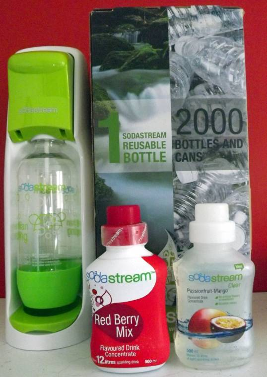 SodaStream World Without Bottles Jet