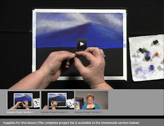 A review of the Creating a Masterpiece online art instruction curriculum, done with the Homeschool Review Crew.