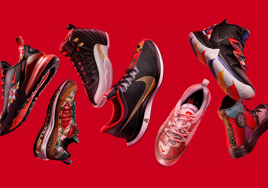 """online store 2ad91 3f520 It s been an even dozen years since Nike first started celebrating the  Chinese New Year with special releases. 2019 is the """"Year Of The Pig,"""" the  last ..."""
