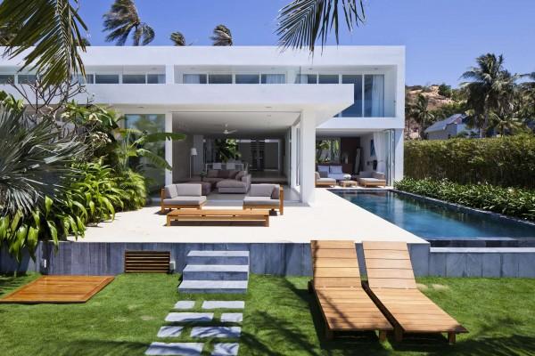 35 Desain dan Denah Rumah Villa Modern - Rumah Minimalis