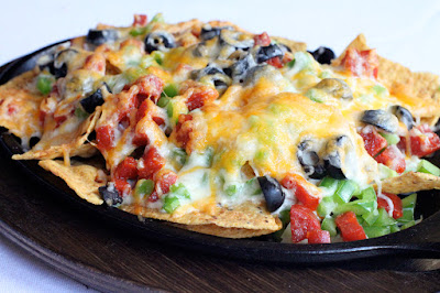 Nachos with Pizza Topping