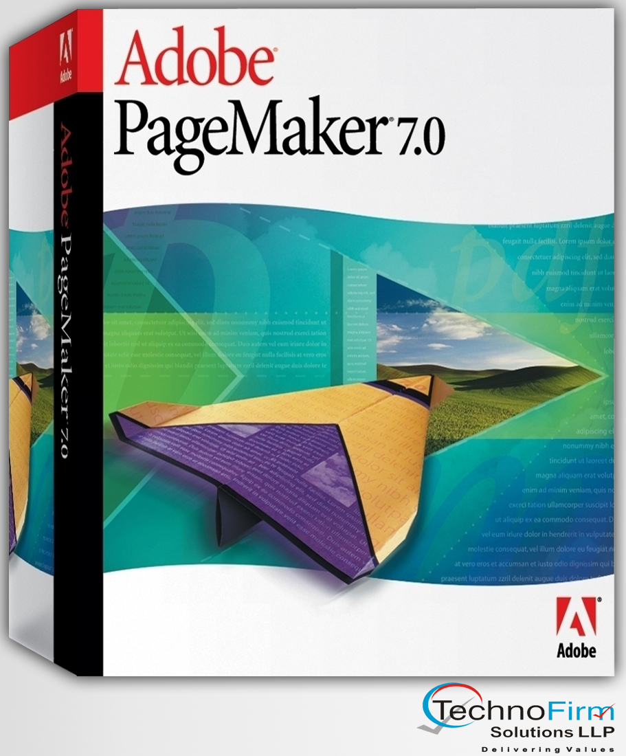 Pagemaker 7 | Technofirm Solutions LLP