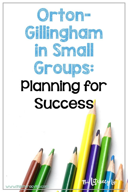 Finding the best way to plan for Orton-Gillingham can be simple. The right balance will help you and your students be successful!