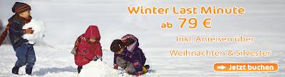 Sunparks Last Minutes Winter