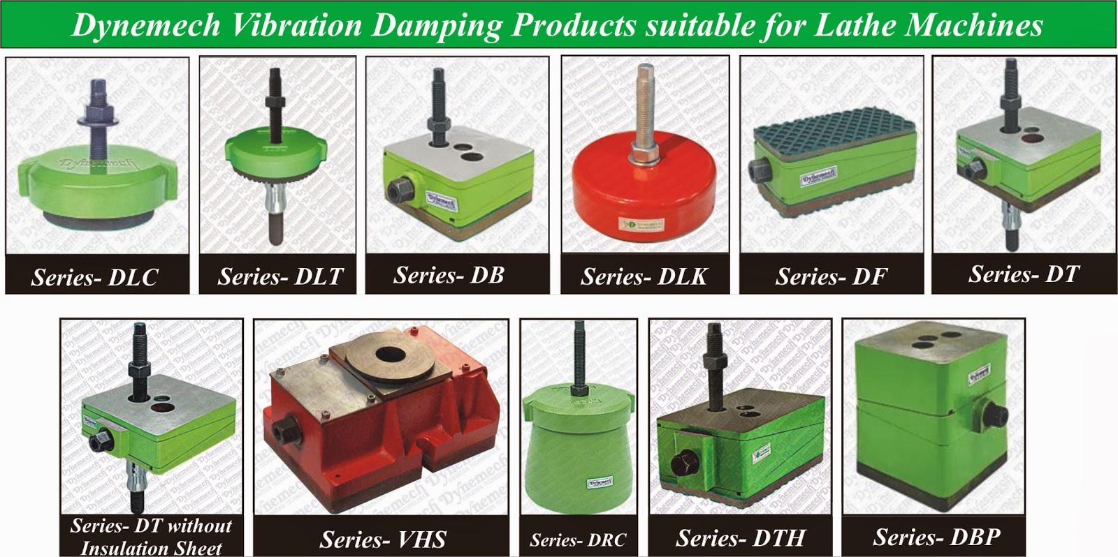 Dynemech Systems - Vibration Control: Dynemech Lathe Leveling Jacks