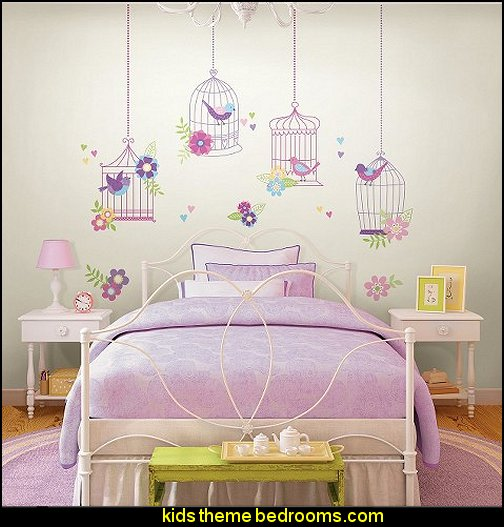 WallPops!® Chirping The Day Away Room Décor Kit