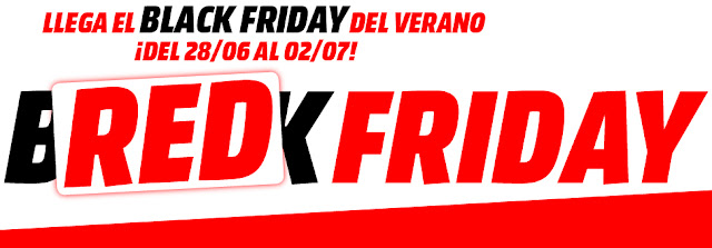 Mejores ofertas folleto Red Friday de Media Markt