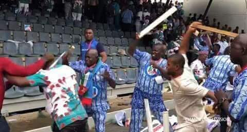 ACP at war fooling themselves at National Convention God Please Take away this foolish leaders from Nigeria.