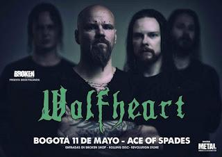 Concierto de Fleshgod Apocalypse en Bogotá 2019