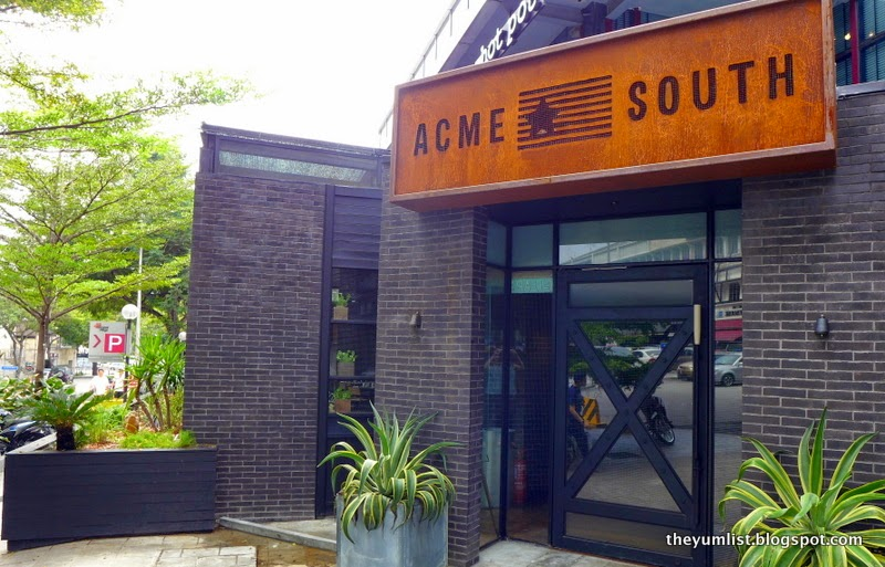 Acme South, Texan and Southern US Cuisine, Bangsar
