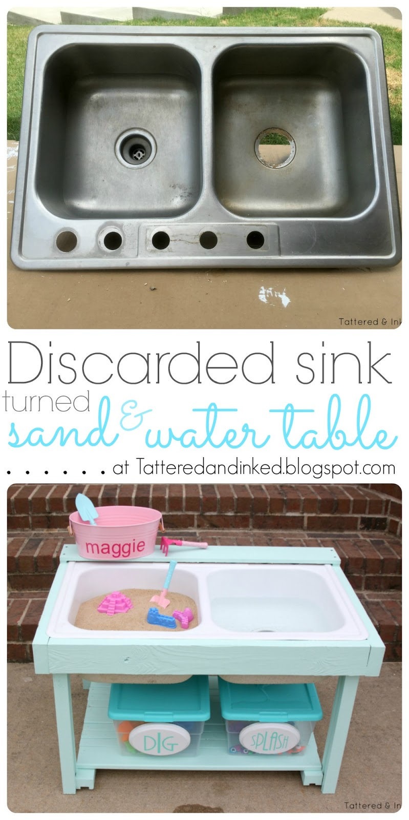 Pink Kitchen Sink