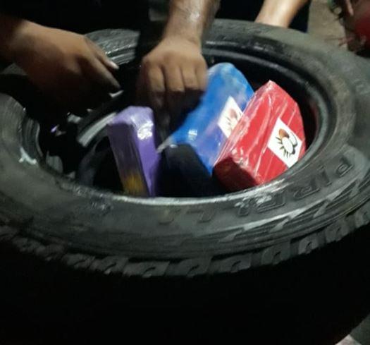 Polícia apreende 10 Kg de cocaína em Parnaíba e dois são presos