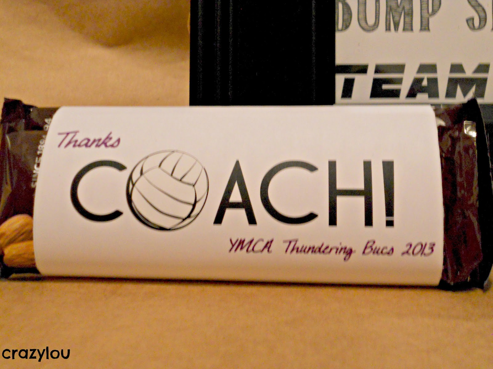 Famous crazylou: Super Simple Coach Gifts! MD05