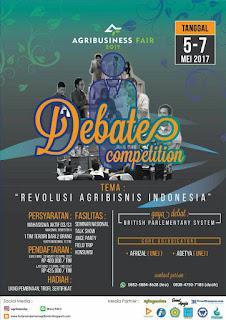 Kompetisi Debat Bahasa Indonesia 2017 dari HMJ Manajemen Agribisnis POLIJE