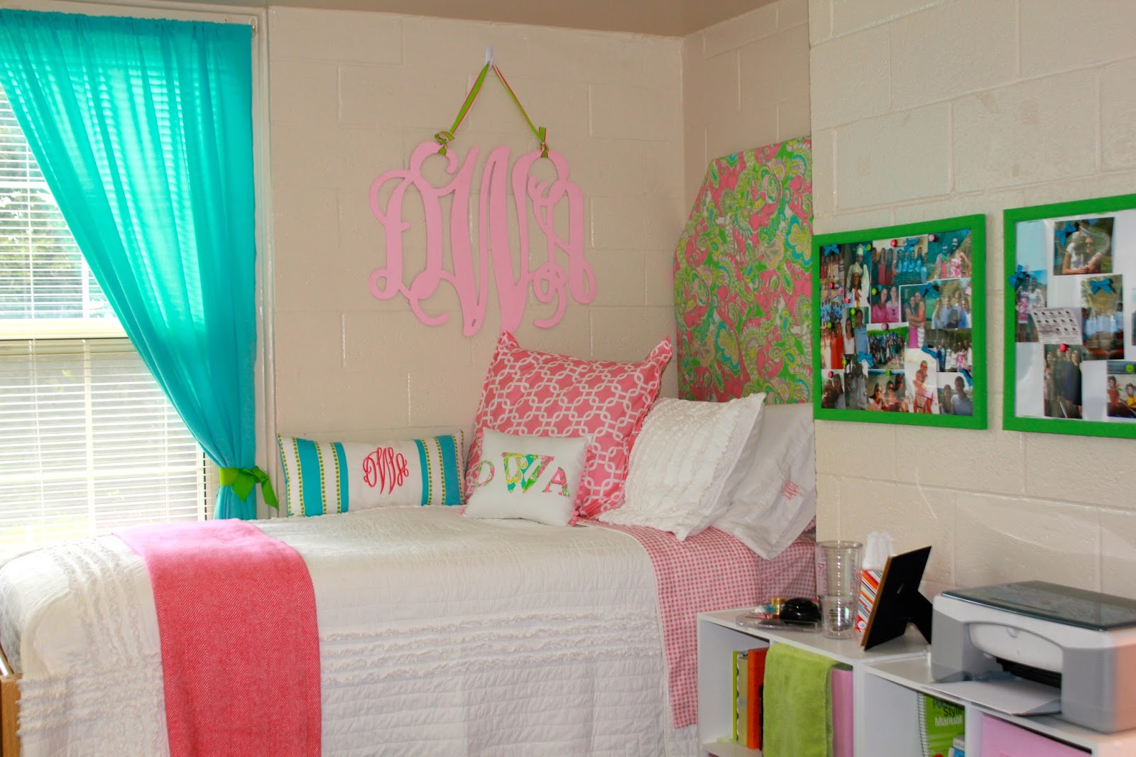 lilly pulitzer chair double with pull out bed prep in your step: my dorm room