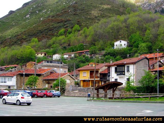 Ruta del Alba: Aparcamiento en Soto de Agues