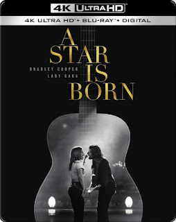 A Star Is Born Steelbook 4K UHD, Blu-Ray, Digital