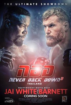 Never Back Down 3 2016 DVD R1 NTSC Latino