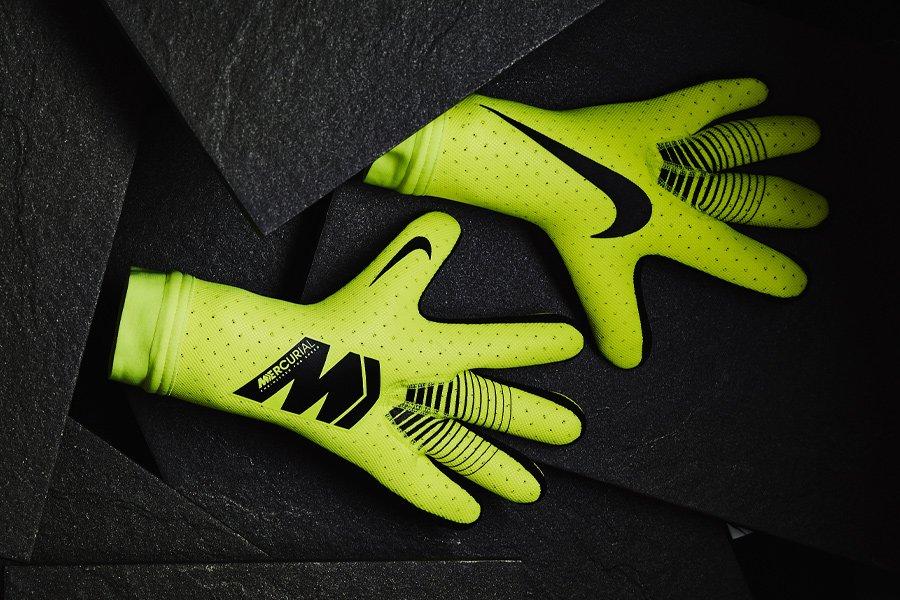 16d1f2f974d Volt  Strapless  Nike Mercurial Touch Elite Goalkeeper Gloves Released