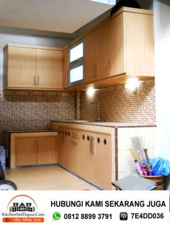 Jasa pembuatan kitchen set bogor cara desain dapur for Tukang kitchen set
