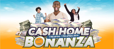 Konga Cash Home Bonanza - Win up to N500,000 every week.