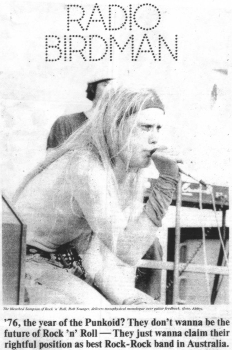 rock on vinyl radio birdman live in sydney 1976 Black 1976 Nova radio birdman s drummer is sitting on a steel framed chair listening to a just petent group pound out hard rock as best as they can