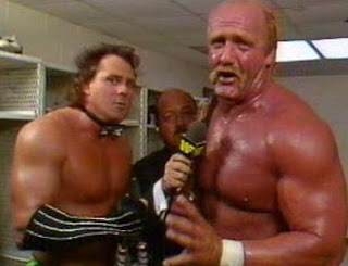 WWF / WWE SURVIVOR SERIES 1989 - Hulk Hogan and Brutus Beefcake