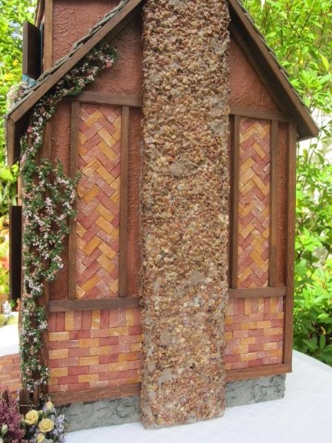 Dollhouses By Robin Carey The Peacock Cottage Dollhouse