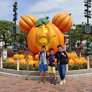 香港迪士尼樂園萬聖節 Hong Kong Disneyland Halloween time 南瓜