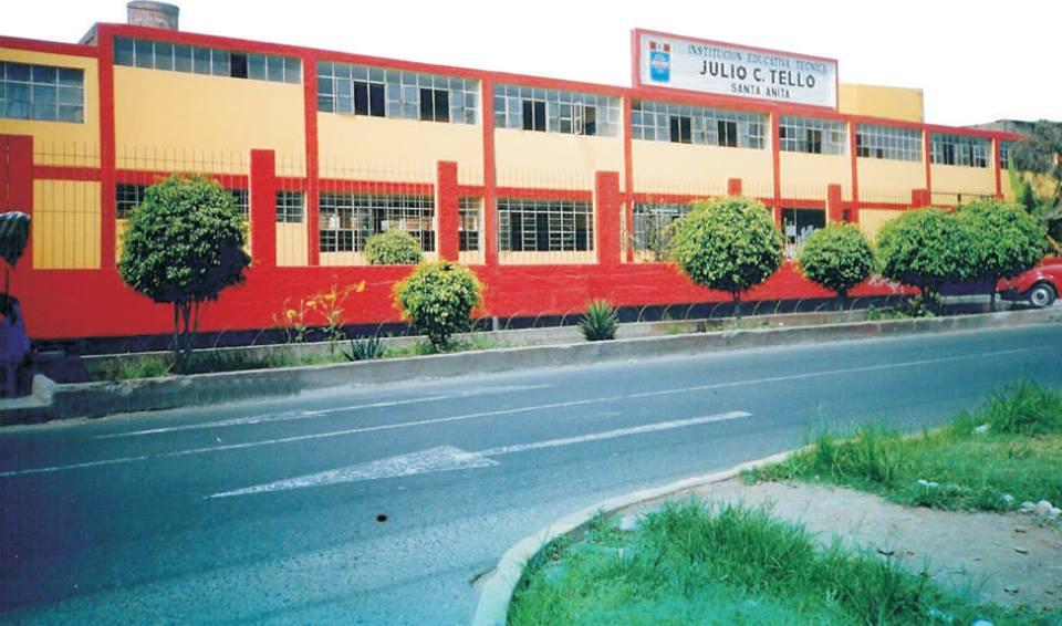 Escuela 133 JULIO CESAR TELLO - Santa Anita