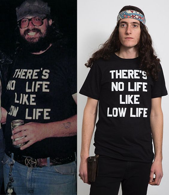 """THERE'S NO LIFE LIKE LOW LIFE"" T-Shirt. PYGear.com"