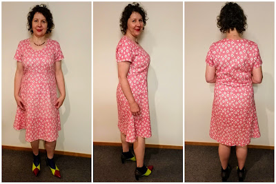 Creates Sew Slow: Silhouette Traditional Peppermint Patty Dress
