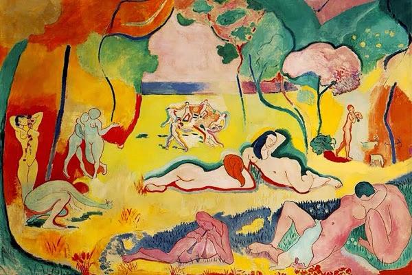 A Alegria de Viver - Pinturas de Matisse, Henri - (Fauvismo) Francês